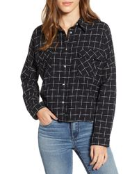 Love, Fire - Check Flannel Shirt - Lyst