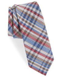 Nordstrom - 1901 Donelly Plaid Linen & Silk Tie - Lyst