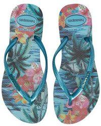 Havaianas - 'slim Tropical' Flip Flop - Lyst