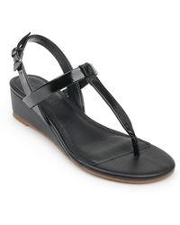 Splendid Avalon Wedge Sandal - Black