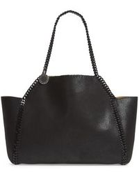 Stella McCartney - Falabella Small Reversible Faux Leather Tote - Lyst