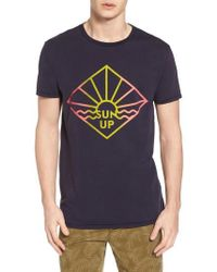 Scotch & Soda - Surfer Graphic T-shirt - Lyst