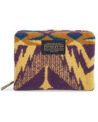 Pendleton - Mini Accordion Wallet - Purple - Lyst