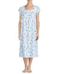 Eileen West - Cotton Ballet Nightgown - Lyst