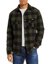 2d9c518ee Filson 'anchor Point' Flannel Lined Wool Jacket in Blue for Men - Lyst