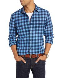 Nordstrom - 1901 Regular Fit Workwear Plaid Flannel Shirt - Lyst