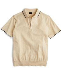 J.Crew - Tipped Sweater Polo - Lyst