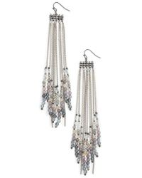 Nakamol | Chain Shoulder Duster Earrings | Lyst