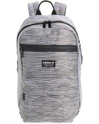 3bae10e22a Lyst - adidas Originals Retro Backpack In Black Bk2108 in Black for Men