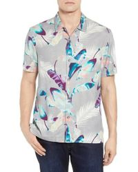 Tommy Bahama - Garden Of Hope And Courage Silk Camp Shirt - Lyst