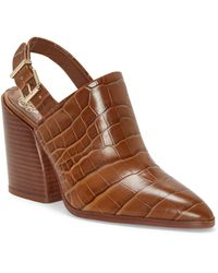 Vince Camuto Chemine Slingback Bootie - Brown