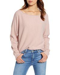 Caslon Caslon Dolman Sweater - Pink