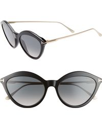 Tom Ford - Chloe 57mm Cat Eye Sunglasses - - Lyst