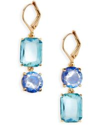 Kate Spade | Kate Spade Shine On Mismatched Drop Earrings | Lyst
