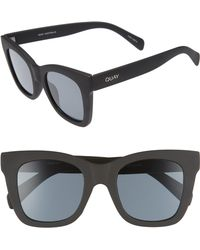 d5b1203943 Quay - After Hours 50mm Square Sunglasses - Lyst