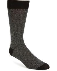 Pantherella - Classic Jacquard Socks - Lyst