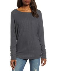Lucky Brand - Ribbed Top - Lyst