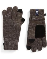 The North Face | Etip Salty Dog Knit Tech Gloves | Lyst