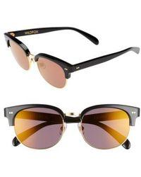 Wildfox - Clubhouse 50mm Semi-rimless Sunglasses - Lyst