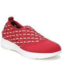 Sarto Fallan Woven Slip-on Sneaker - Black