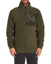 Billabong - Boundary Mock Half Zip Pullover - Lyst