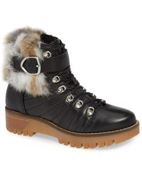 Rudsak - Baie Genuine Rabbit Fur Trim Winter Boot - Lyst