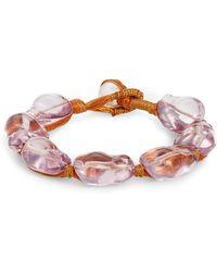 Lizzie Fortunato - Pebble Bracelet - Lyst
