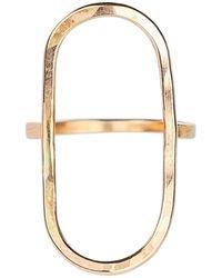 Nashelle Oasis Ring - Metallic