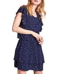 ALLETTE Naomi Nursing Dress - Blue