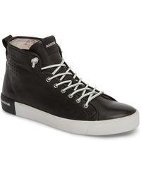 Blackstone Pm43 Slip-on High Top Sneaker - Black