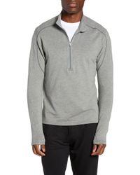 tasc Performance Tahoe Ii Fleece Half Zip Pullover - Gray