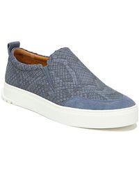 Sarto Dannon Platform Slip-on Sneaker - Blue