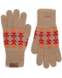 Pendleton - Jacquard Texting Gloves - Lyst
