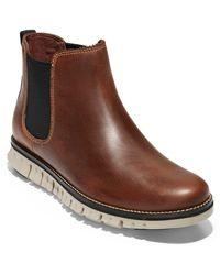 Cole Haan Zerøgrand Chelsea Waterproof Boots - Black