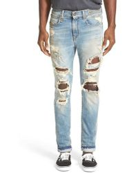 R13 - Skate Destroyed Jeans - Lyst