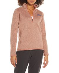 Patagonia Better Sweater Quarter-zip Fleece Pullover
