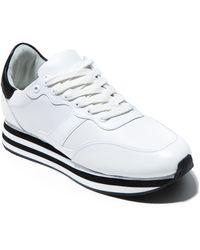 Alice + Olivia Magman Sneaker - White