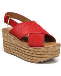 Sarto - Caroline Platform Wedge Sandal - Lyst