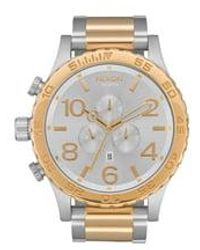Nixon 51-30 Chrono Watch - Metallic