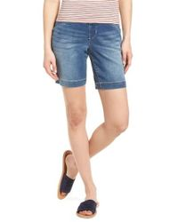 Jag Jeans - Ainsley Pull-on Stretch Denim Shorts - Lyst