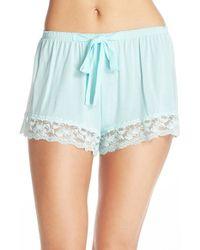 Flora Nikrooz - 'snuggle' Knit Shorts - Lyst
