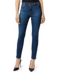 J Brand - Maria High Waist Skinny Jeans - Lyst