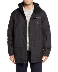The North Face - 'sherman' Hooded Waterproof Parka - Lyst