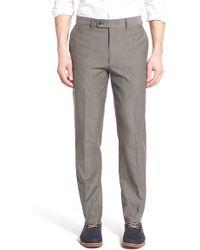 Bensol - 'cool Guy' Flat Front Pants - Lyst