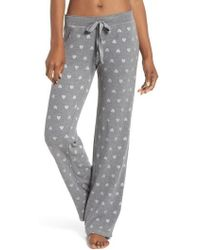 Pj Salvage - Wild Heart Thermal Lounge Pants - Lyst