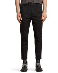 AllSaints - Salco Slim Fit Chino Pants - Lyst
