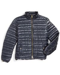 Burberry Brit - Burberry London 'torford' Goose Down Puffer Jacket - Lyst