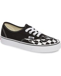 9afdc230d6f7f2 Lyst - Vans Quinn Canvas Sneakers in Black
