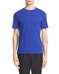 Acne Studios 'eddy' Cotton Pique T-shirt - White