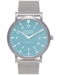 Shore Projects | 'lulworth' Mesh Strap Watch | Lyst